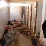 Οι παλιές τουαλέτες του στρατοπέδου